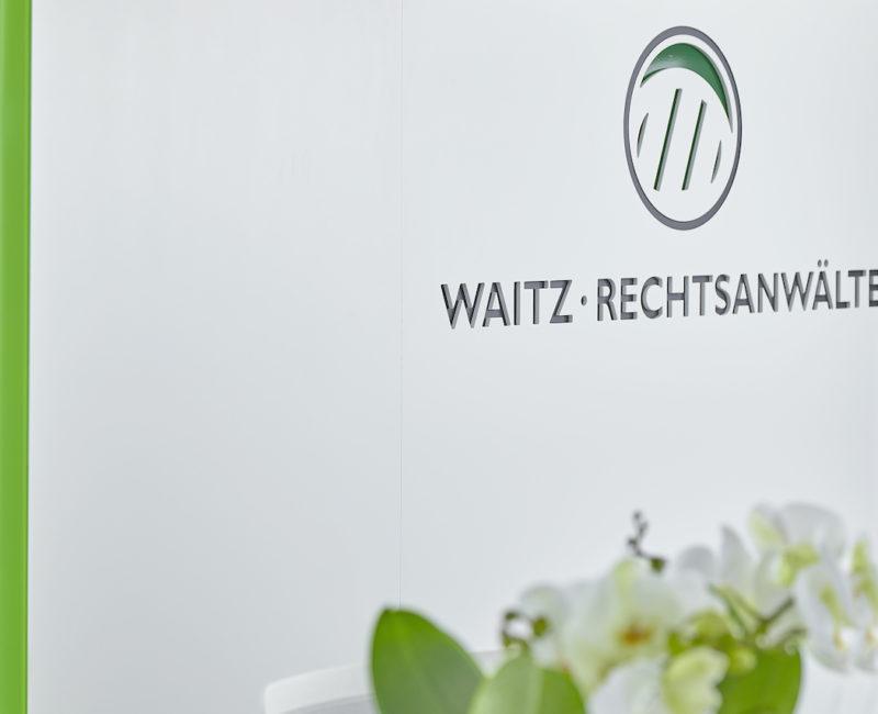 Empfang - Corona Rechtsanwalt Linz Österreich • Waitz Rechtsanwälte GmbH